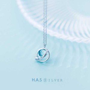 Dây Chuyền Moon Embraces Sun H.A.S Silver