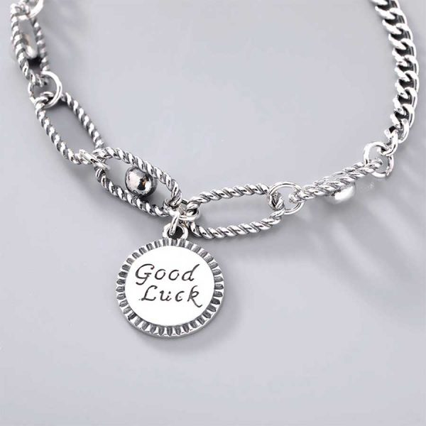 Lắc Tay Good Lucky H.A.S Silver