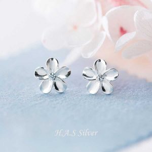 Bông Tai Sakura H.A.S Silver