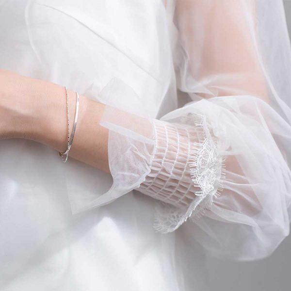 Lắc tay bạc Brilliance